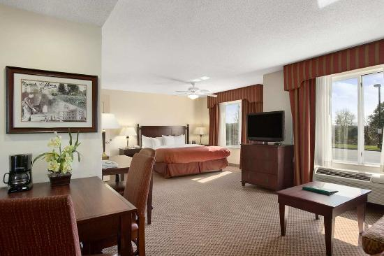 King Studio Suite Picture Of Homewood Suites Wallingford Meriden Wallingford Tripadvisor