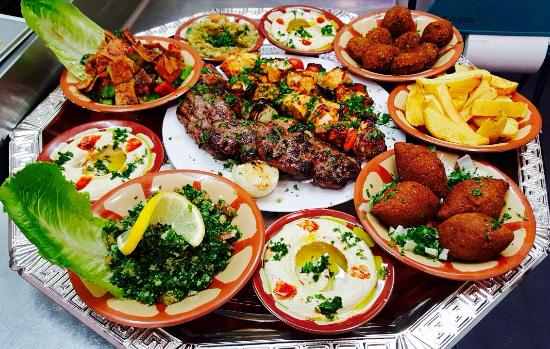 Lebanese food picture of grand beirut restaurant for Arabic cuisine food