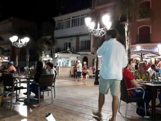 La Plaza de los Chinorros: Love this area