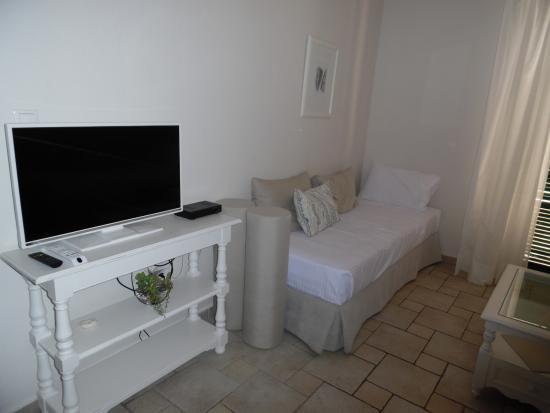 Woon/slaapkamer - Foto van San Antonio Corfu Resort, Kalami ...