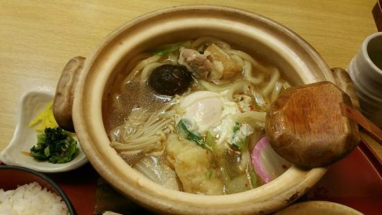 Sagami, Ichinomiya Chiaki: 鍋焼きうどん