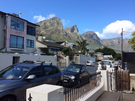 Camps Bay, Zuid-Afrika: Restaurant view