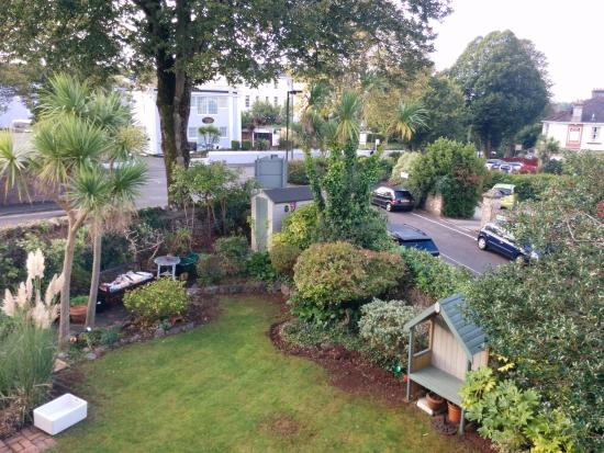 Abbeyfield Hotel: Garden view from Room 3