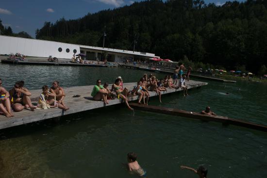 Gratwein, Österreich: Der See