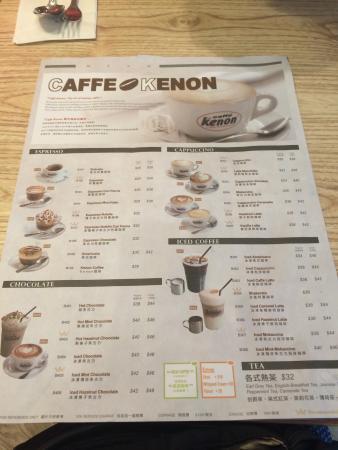 Caffe Kenon Causeway Bay