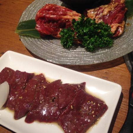 Toraji Chunadon, Maru Bldg.: 焼肉