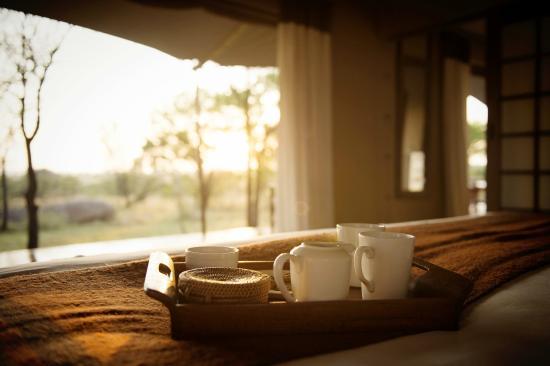 Early morning tea or coffee - ...