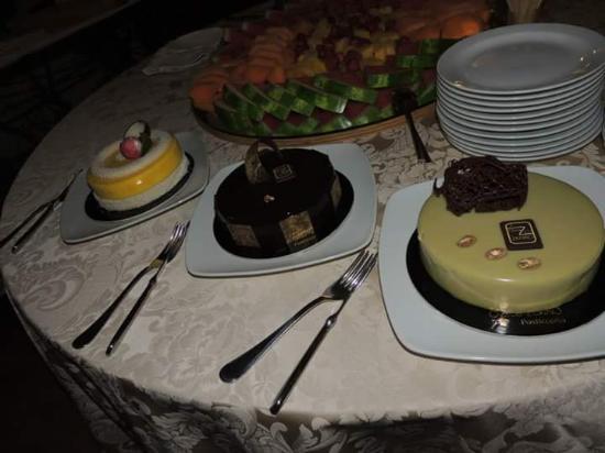Chalet delle Ginestre : buffet