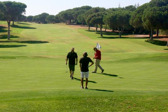 Lesters Golf: Peter, my son and I playing on the Pinhal course the last day.