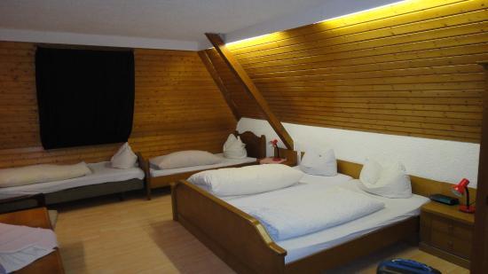 Hotel Sonnenmatte: номер