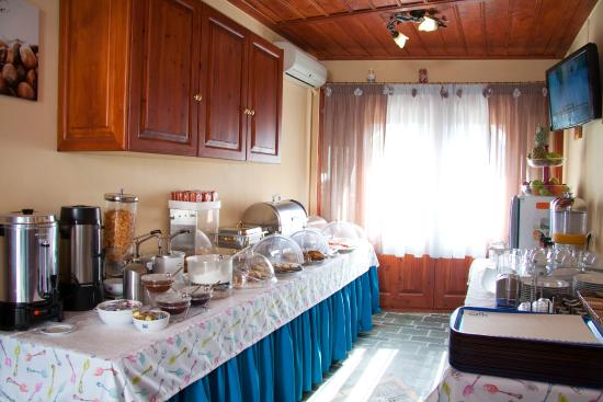 ALK Hotel: breakfast buffet