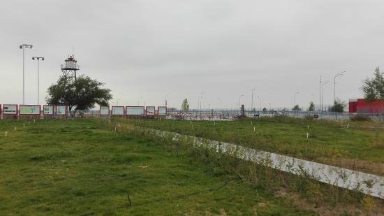 Huocheng County, Chiny: 広場