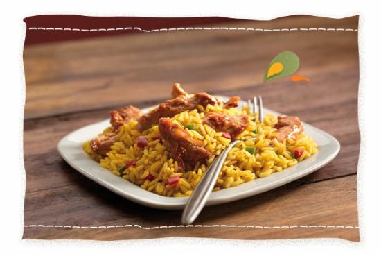 Nando's Sandown: Nando's Chicken Strips and Spicy Rice