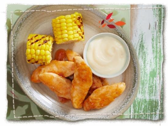 Nando's Sandown: Nando's Light Meals Chicken and Mielies