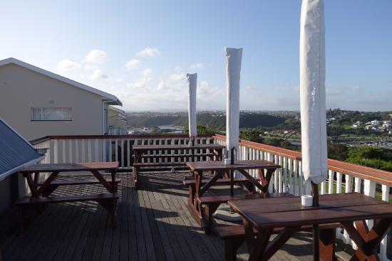 The Links Restaurant : The deck