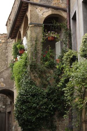 Residenza Farnese: Loggia
