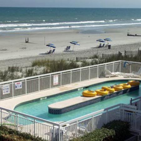 Castaway Beach Inn: By The Sea Motel North Myrtle Beach SCLazyriver