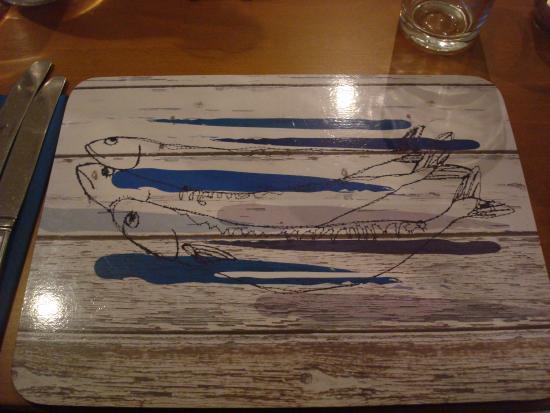 The Mishnish Bar: Set de table