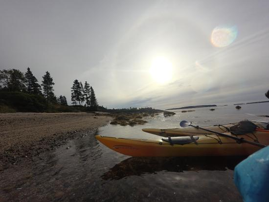 Somes Sound: kayaking the sound