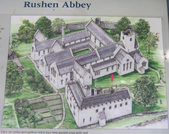 Rushen Abbey: As it was?????