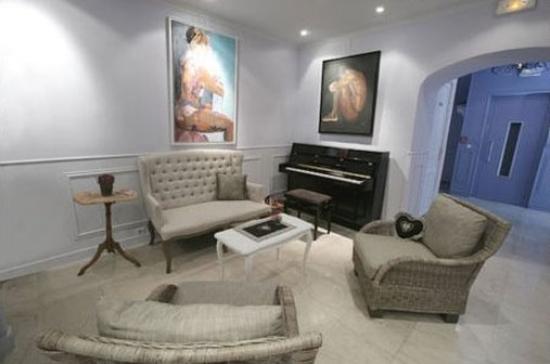 Hotel de Provence: Lounge
