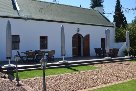 Bonnievale, Zuid-Afrika: The tasting rooms
