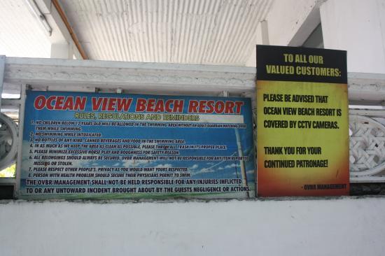 Subic, Philippinen: Ocean View Resort