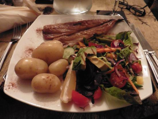 Lochcarron, UK: Salade de maquereau fumé