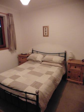Lochcarron, UK: Chambre du chalet