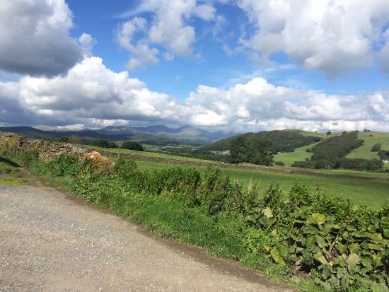 Cumbria, UK: View from back door
