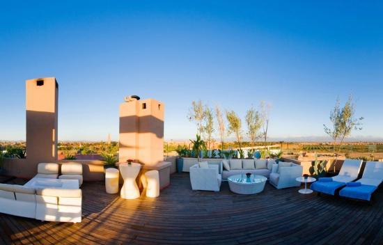 Hivernage Hotel & Spa: View Mysky (Day)