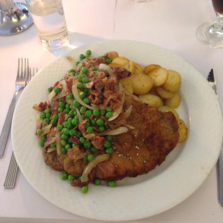 Veflinge, Danemark : Fyns bedste schnitzel! Altid godt - altid nok :)