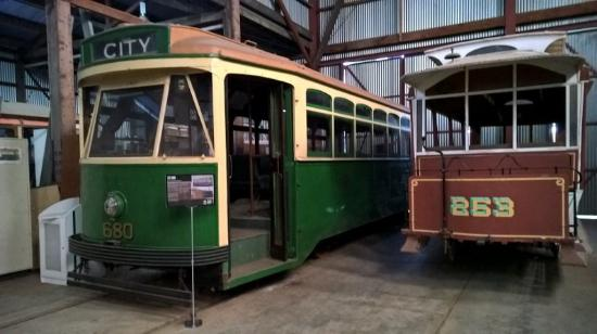 Kilmore, Australia: X2680 and Replica Horse Tramway Carriage