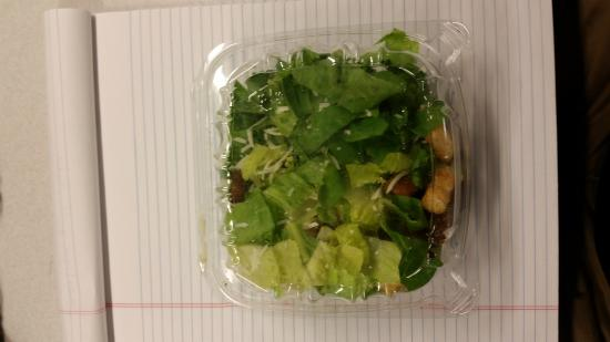 Shucker's Pier 13: $6.00 salad from Shuckers... on 8.5x11 paper for size