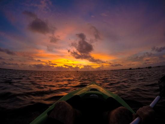 Joe Jo's By The Reef: Kayaking at sunrise