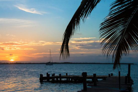 Joe Jo's By The Reef: Sunset on the island