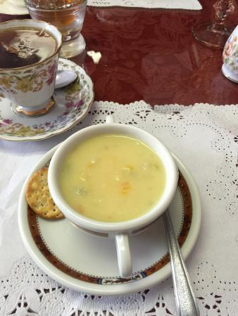 Serendipity Tea Room : Potato Soup