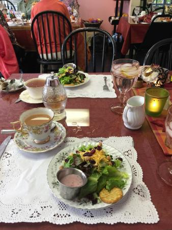 Serendipity Tea Room: Salad