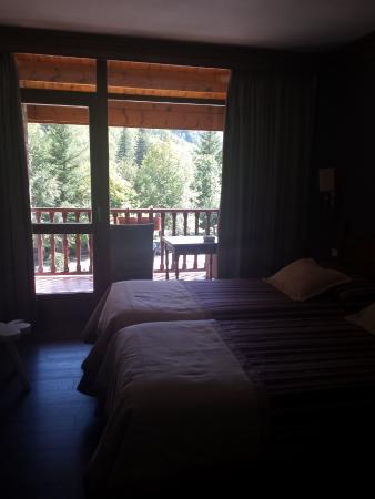 Hotel La Coma: Vista hacia el balcón