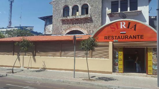 Siria restaurante