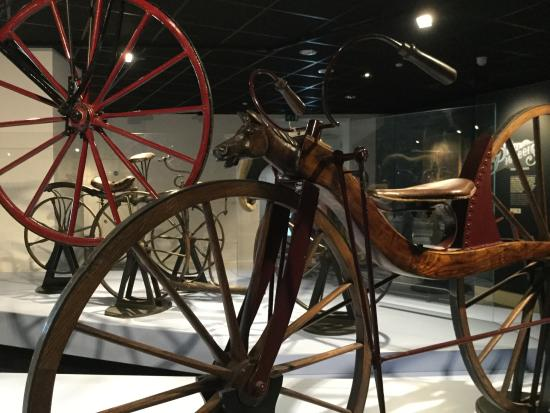 Coventry, UK: An early bicycle.