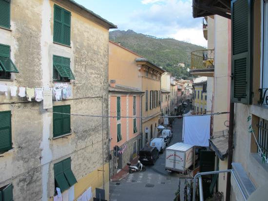 Affittacamere Marco: Utsikten fra rom i øvre etasje!