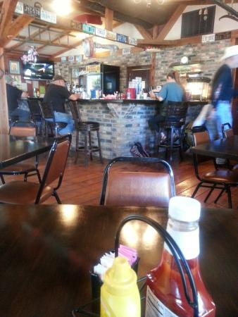 Lakeview, AR: Bar at AnchorsnUp