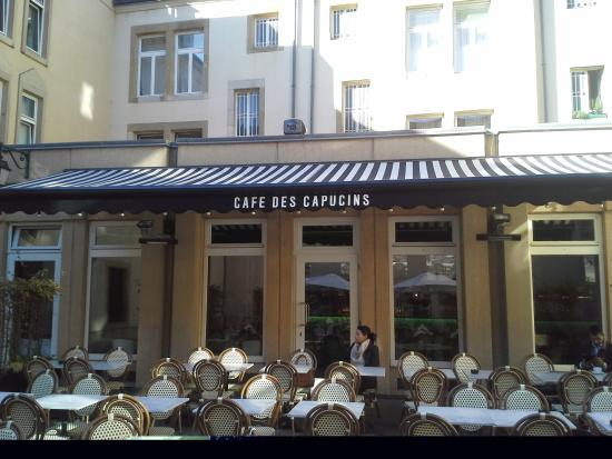 Photo de caf des capucins luxembourg tripadvisor - Restaurant rue des bains luxembourg ...