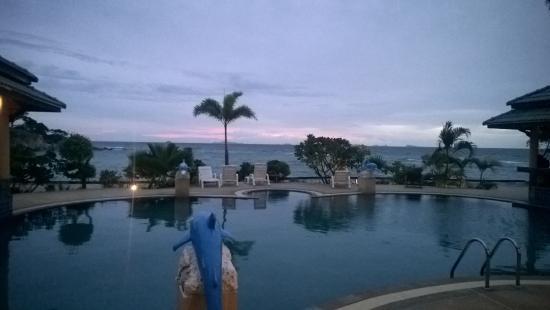 Haad Tian Beach Resort Koh Phangan: Abendstimmung