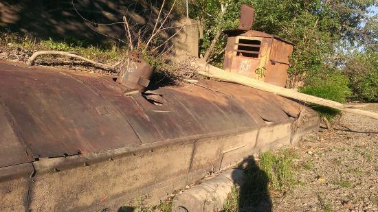 Al Foster Memorial Trail: Gravel Barge along Al Foster Trail