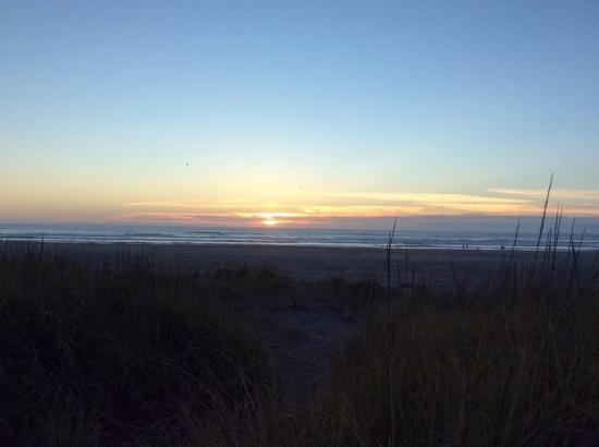 Λονγκ Μπιτς, Ουάσιγκτον: Sunset from the beach