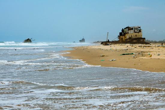 Estado de Lagos, Nigéria: Tarkwa Bay Beach