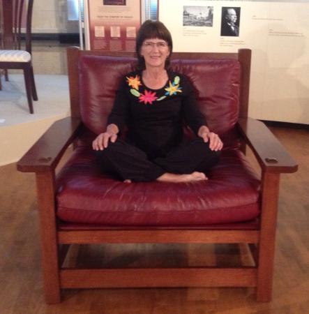 The Stickley Museum: The Dalai Lama Chair