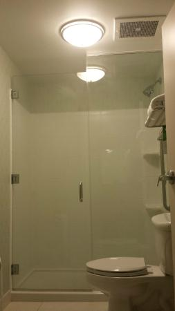 Orion, MI: I liked the modern shower facilities